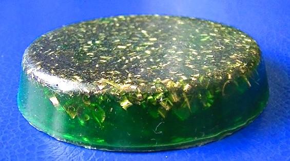 Medalion orgonic verde