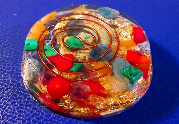 Medalion orgonic Crystal 20