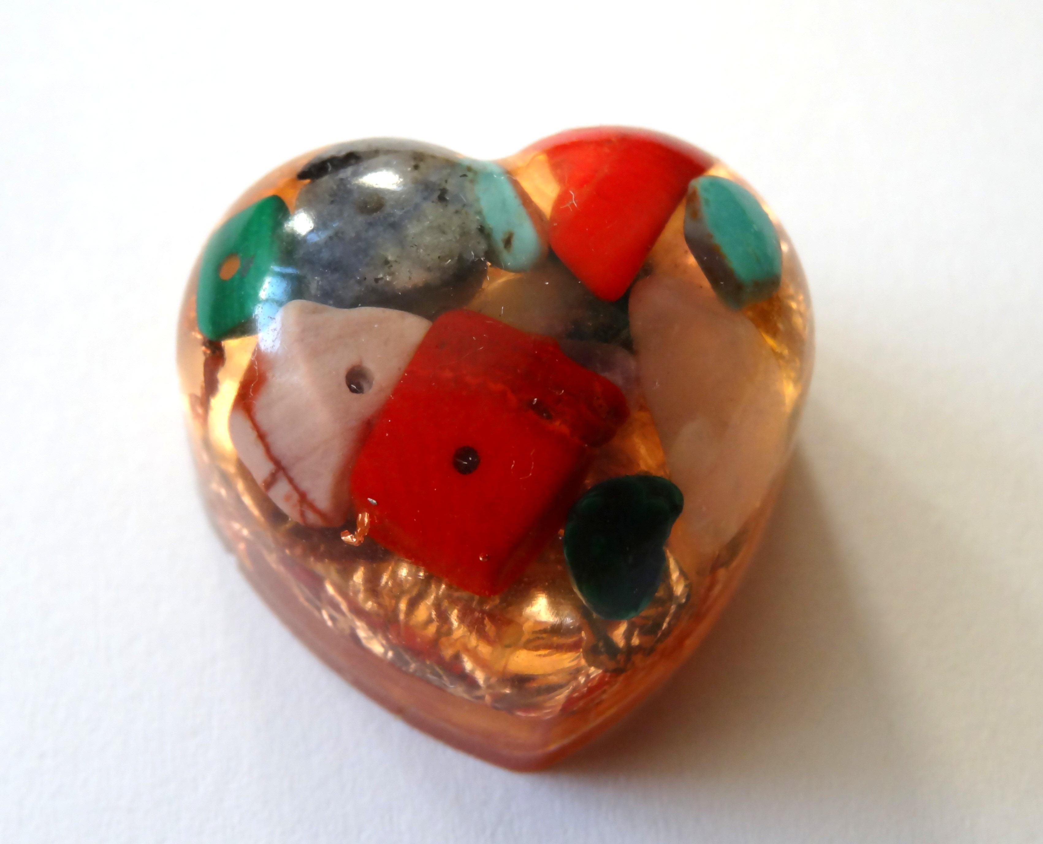 Inimioara orgonica Crystal