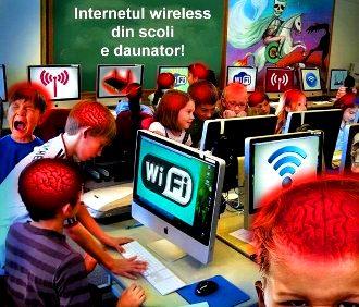 Avertisment! Internetul wireless din scoli poate crea probleme grave copiilor! Folositi orgonii pentru a va proteja copiii!