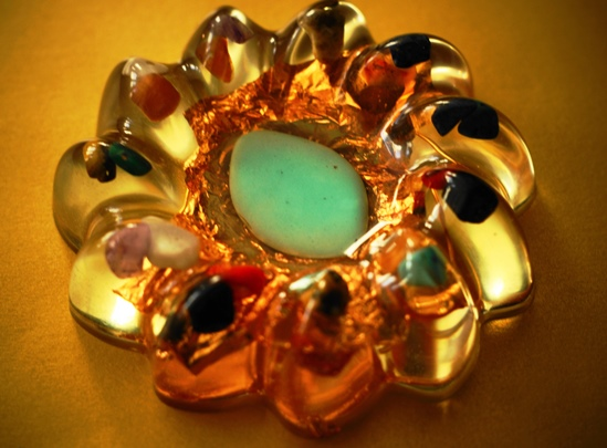 Medalion Crizantema Crystal