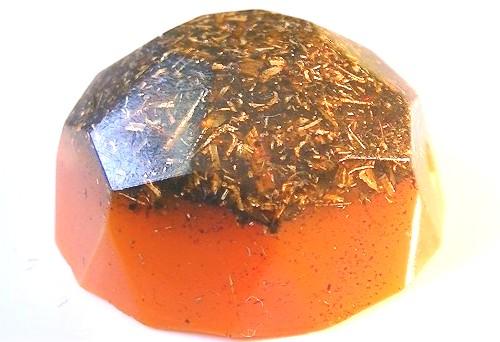 Diamant orgonic portocaliu