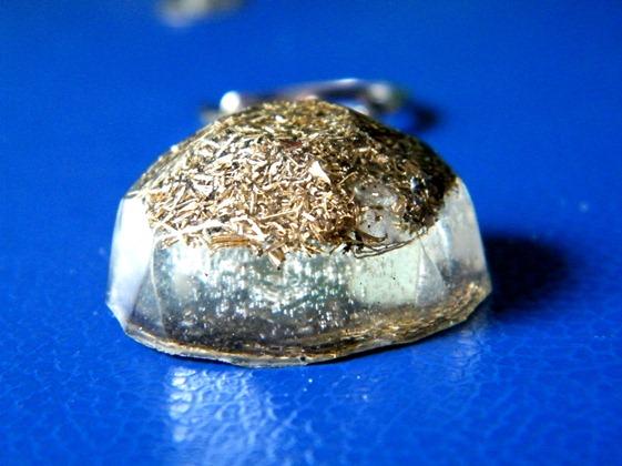 Diamant orgonic transparent