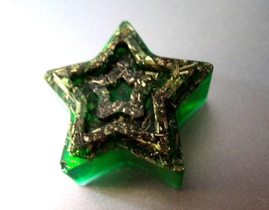 Steluta orgonica verde